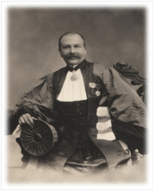Paul Sabatier Doyen de l'Université (1905)