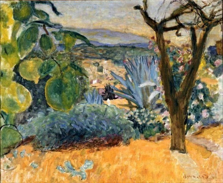 Pierre Bonnard 1930 Le cannet
