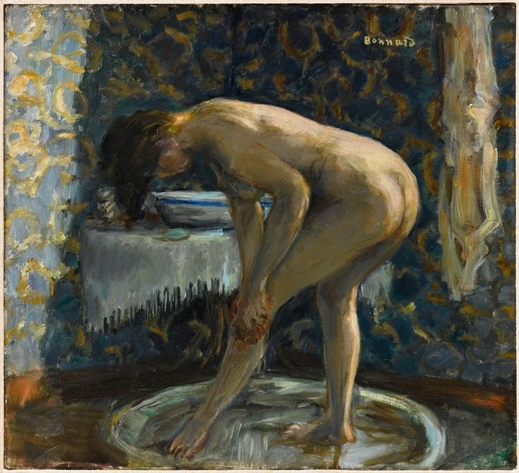 Pierre Bonnard nu au tub 1903